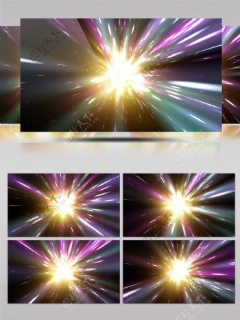 4K动感光源穿梭时光隧道DJ背景VJ视频