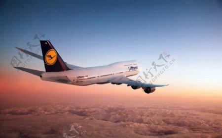 波音747客机3d飞机模型max