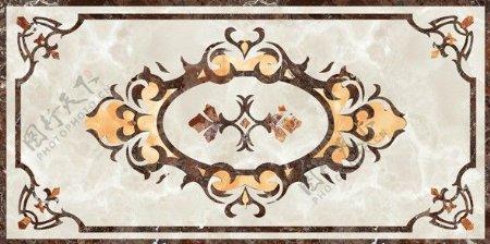 欧式图案纹理瓷砖贴图