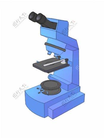 蓝色医疗显微镜
