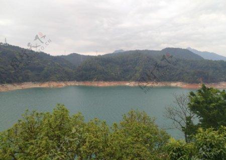 新丰江水库万绿湖