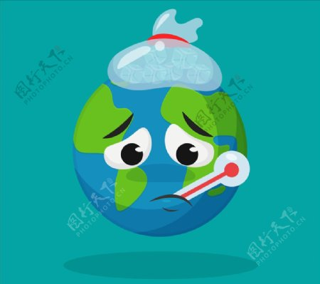 生病的地球
