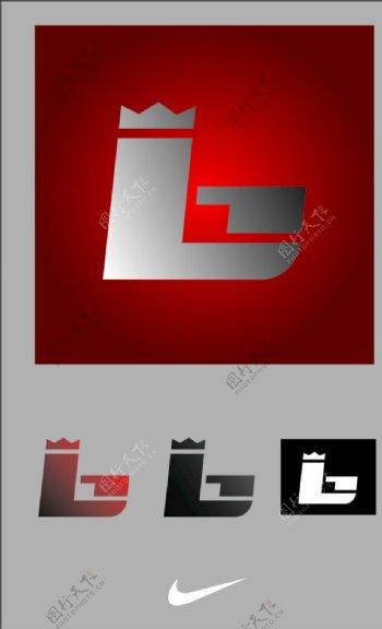 最新勒布朗詹姆斯个人logo