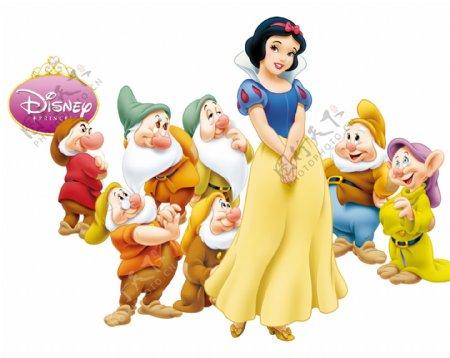 白雪公主七个小矮人