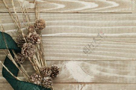 干花木板纹理