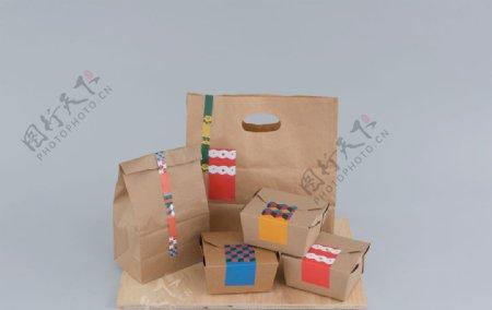 包装排版vi素材