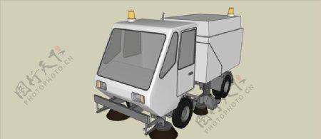 环保清洁车模型
