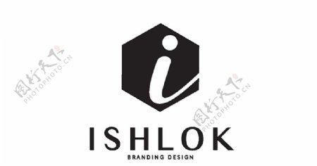 创意矢量logo标志i元素
