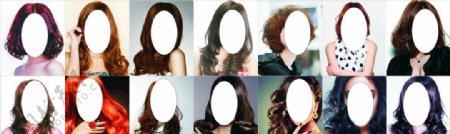 发型模特美女发型