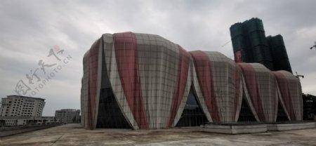 城市建筑大气体育馆