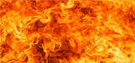 烈火燃烧炎热背景海报素材
