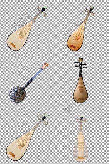 实木复古国风琵琶