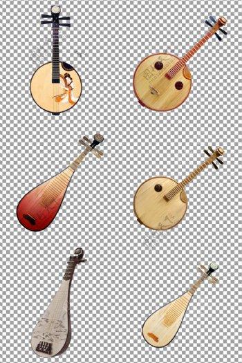 古典乐器琵琶