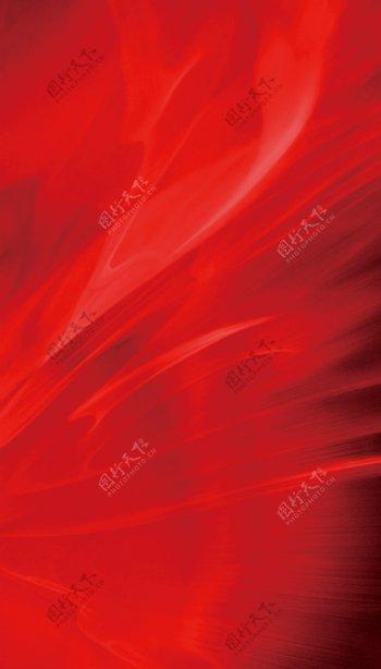 红底地产质感背景红