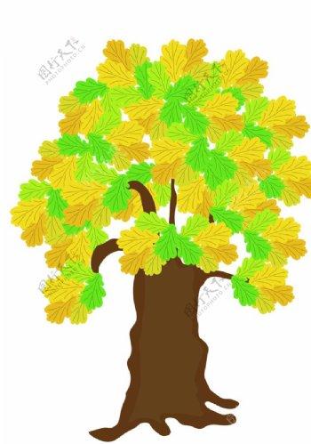 树木植物标志图标图形素材