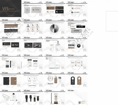 VIS手册品牌VI手册图片
