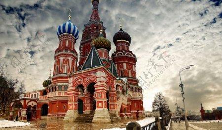 俄罗斯克姆林宫图片