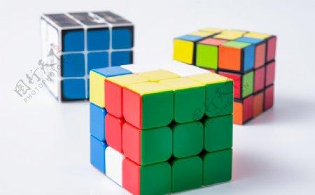彩色儿童玩具魔方图片
