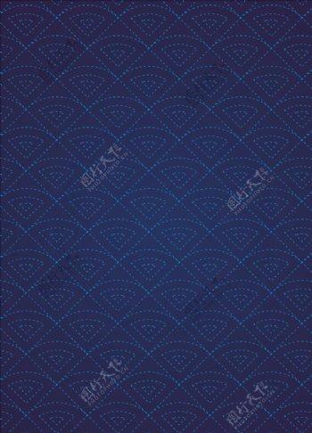 蓝色渐变商务背景图片