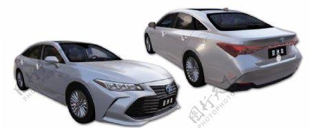 丰田亚洲龙汽车免扣分层素材图片