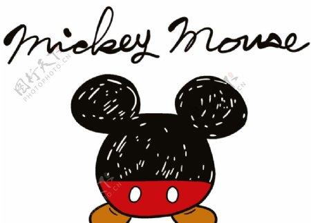米奇米老鼠裁片图片