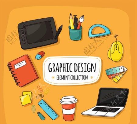 平面设计元素图片