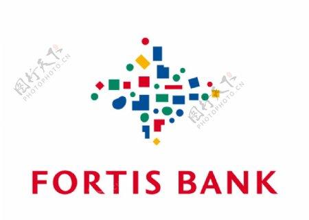 富通银行标志LOGO图片