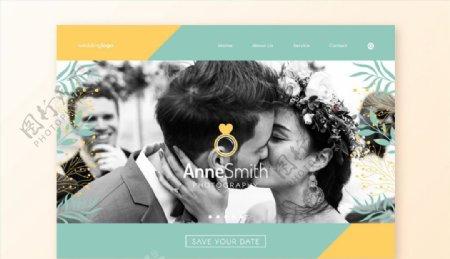 摄影网站登陆页图片