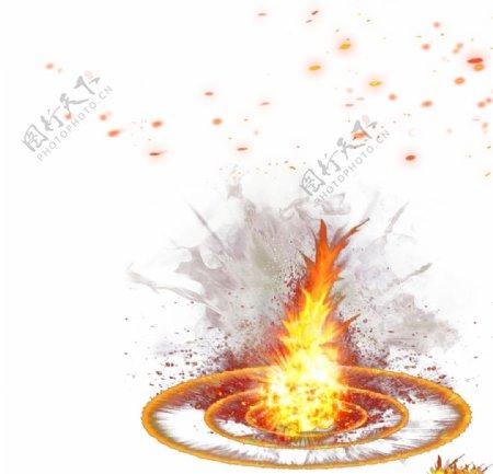 燃烧火图片