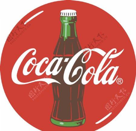 可口可乐图案图片