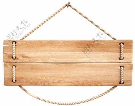 木板告示图片