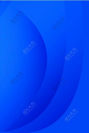 底图蓝色渐变层叠图片