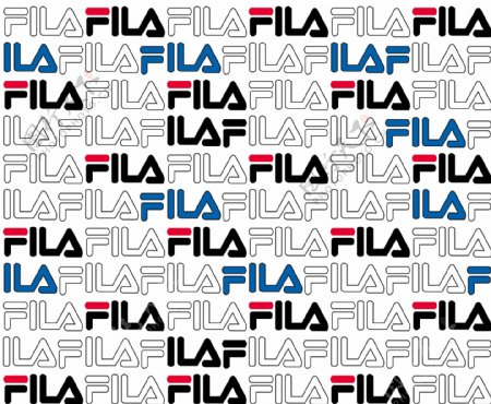 FILA斐乐大牌印花图片
