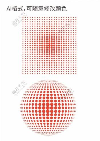 圆点渐变网点渐变圆点点状图片