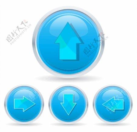 水晶按钮图片