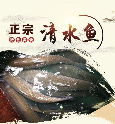 清水鱼图片