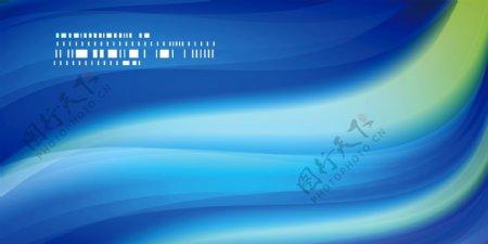 蓝色渐变企业舞台背景图片