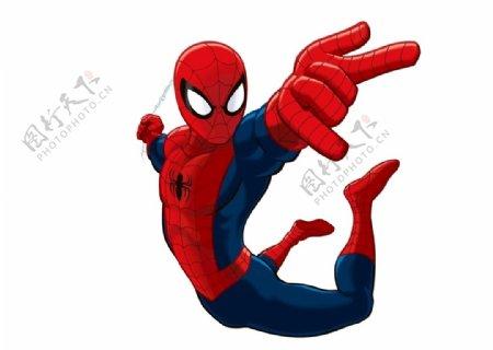 蜘蛛侠AI图片