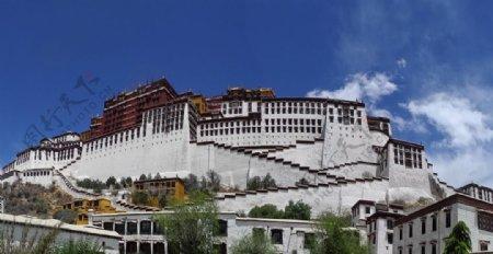 壮观的布达拉宫图片