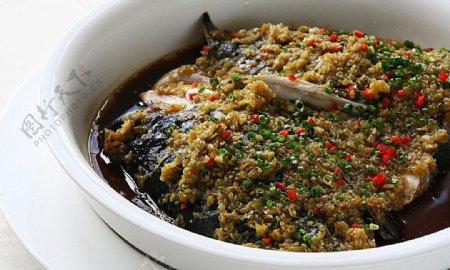 清真菜酱椒俄罗斯鱼头图片