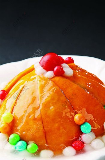 特色菜珍珠老南瓜图片