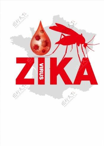 蚊子卡通矢量图片