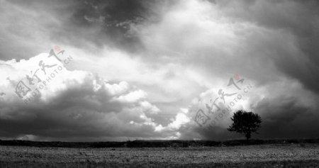 大地云层图片