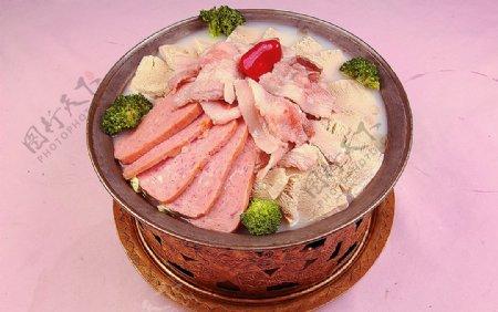 大白菜冻豆腐五花肉图片