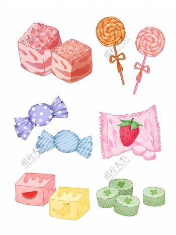 糖果素材图片