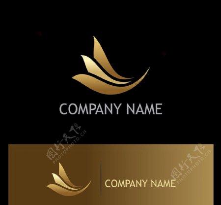 金色质感商标图片