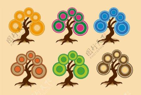 树标志图标图片
