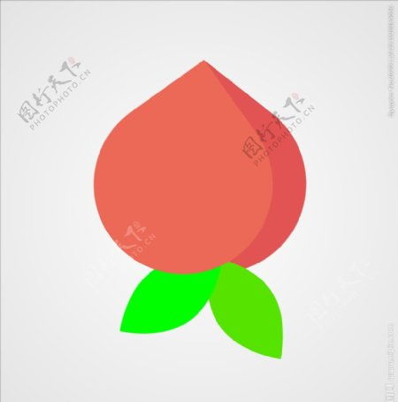 桃子水果图片