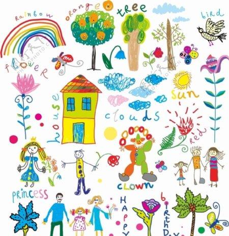 儿童画图片