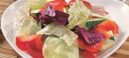 三色彩椒总汇图片